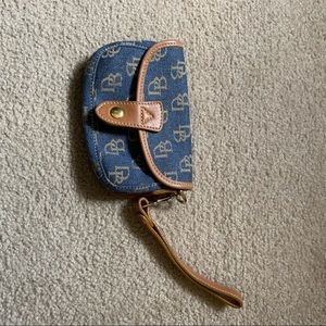 Dooney & Bourke Signature Clutch